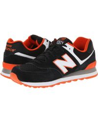 New Balance | black Ml574 - Core Plus Collection | Lyst