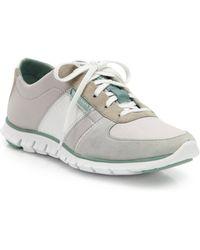 Cole Haan Zerogrande Suede & Neoprene Sneakers - Lyst
