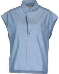 Golden Goose Deluxe Brand Denim Shirt - Lyst