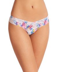 Hanky Panky Colorburst Low-Rise Thong multicolor - Lyst