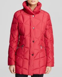 Basler Coat - Puffer - Red
