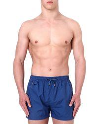 Hugo Boss Catshark Swim Shorts Blue - Lyst