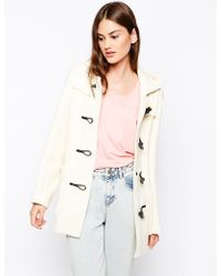 Gloverall Hooded Duffle Coat - Lyst