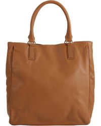 Barneys New York Classic Tote brown - Lyst