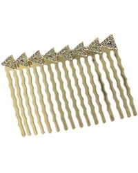 House Of Harlow 1960 Migration Hair Comb gold - Lyst