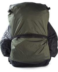 Christopher Raeburn Green Packaway Rucksack - Lyst