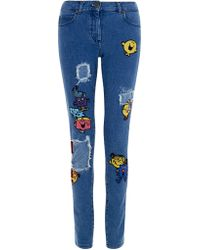 House Of Holland Mr Men Skinny Jeans - Lyst