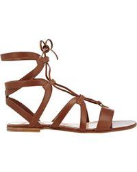 Gianvito Rossi Ferah Gladiator Sandals - Lyst
