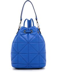 Milly Avery Convertible Backpack - French Blue - Lyst