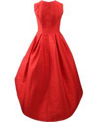 Alexis Leena High-low Dress - Red