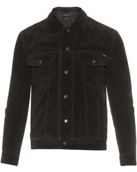 Marc Jacobs Point-collar Suede Jacket - Brown