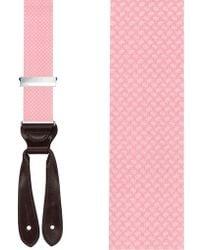 Trafalgar - 'hatfield' Silk Suspenders - Lyst