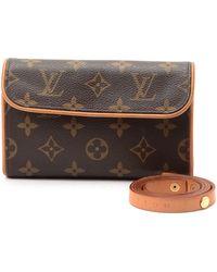 Louis Vuitton Waist Pouch brown - Lyst