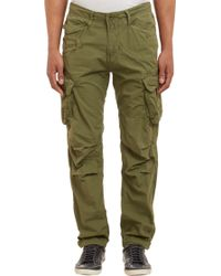 G-Star RAW Rovic Tapered Cargo Pants Olive - Lyst