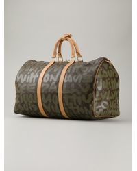 Louis Vuitton 'Sprouse Keepall 50' Bag - Lyst