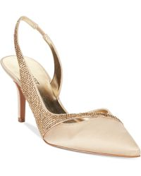 Nine West Kowder2 Mid-Heel Evening Pumps - Lyst