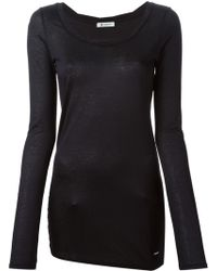 Dondup Long Sleeve T-Shirt - Lyst