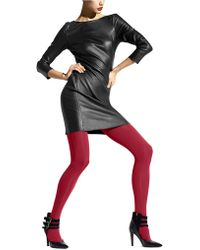 Hue Seamless Opaque Tights - Lyst