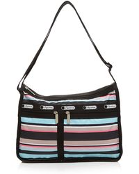LeSportsac Shoulder Bag - Deluxe Everyday Tennis Stripe - Lyst