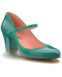 Shoes Of Prey - Mary Jane Pump - Lyst