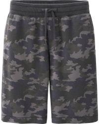 Uniqlo Men Sweat Printed Short Pants - Lyst