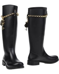 Love Moschino Boots black - Lyst