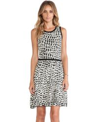 Trina Turk Black Huxley Dress - Lyst