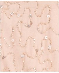 Patra Kimono-Sleeve Beaded Blouson Gown - Lyst