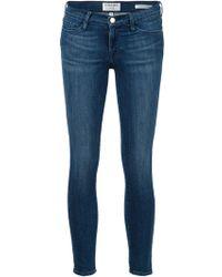 Frame Denim 'Le Skinny Crop' Jeans - Lyst