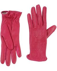 John Galliano Red Gloves - Lyst