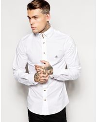 Vivienne Westwood Shirt with 3 Button Collar - Lyst