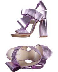 Delpozo Sandals - Lyst