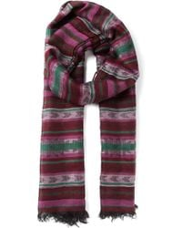 Missoni Woven Fringed Scarf - Lyst