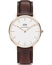 Daniel Wellington Classic Bristol Watch, 36Mm brown - Lyst
