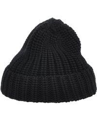 Les Hommes Hat - Black