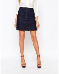Warehouse - Pocket Pelmet Skirt - Lyst
