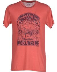 Obey | red T-shirt | Lyst