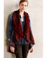 Anthropologie Ombre Sweater Vest - Lyst