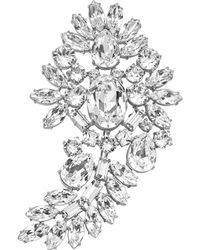 Michael Kors - Crystal Brooch - Lyst