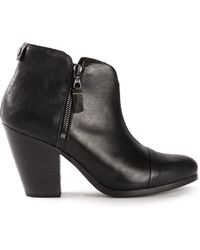 Rag & Bone Black Margot Boots - Lyst