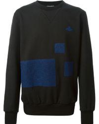 Vivienne Westwood Contrasting Panel Sweatshirt - Lyst