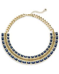 House of Harlow 1960 - Beaded Collar Necklace - Lyst