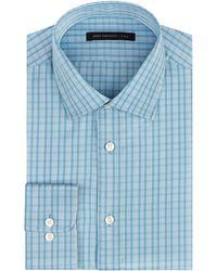 John Varvatos Slim Fit Plaid Dress Shirt - Lyst