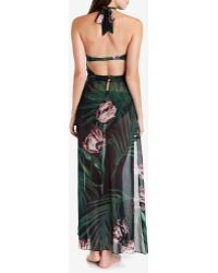 Ted Baker Palm Maxi Cover Up - Green