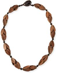Eskandar Comanda Single Necklace - Lyst