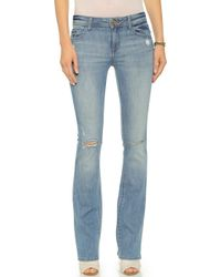 DL1961 Elodie Insta Sculpt Boot Cut Jeans - Finlay - Lyst