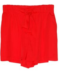Giada Forte - Chic Sash Shorts - Lyst