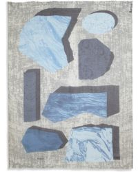 Yigal Azrouel Patchwork Modal  Cashmere Scarf - Lyst