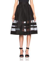 Alice + Olivia Misty Mid Length Skirt - Lyst
