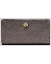 Kate Spade Wallet - Glitter Bug Stacy Continental - Lyst
